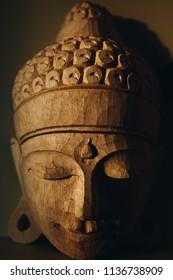 buddha head face, buddhism