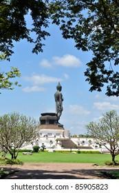 Buddha image at Phutthamonthon, Nakhon Pathom, Thailand