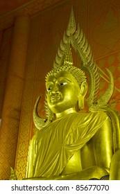 Buddha image at Thai church Thailand
