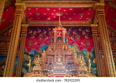 The Buddha image within the church is something that Buddhists worship, and is attached to the mind.