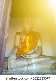 Buddha image for worship of Thai people.