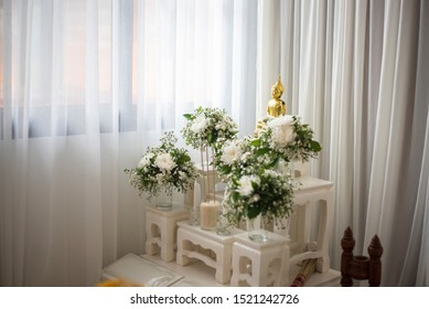 Set Of Altar Table Thailand Images Stock Photos Vectors Shutterstock