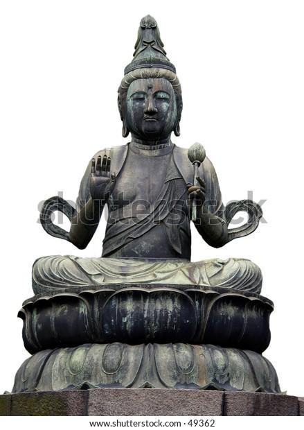 Buddha of Mercy statue in Tokyo