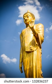 Buddha Phra yai phu kok gnew  Loei province Thailand,statue in religion Thailand  ,  are public  domain  ,no restrict in copy or use . This photo  taken   these  conditions