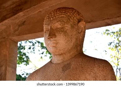 Buddha Samadhi statue in Anuradhapura, Sri-Lanka