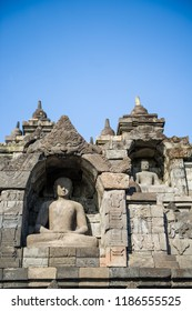 Buddha Statue of Borobudur Temple, Jogja, Indonesia 12