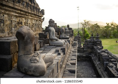 Buddha Statue of Borobudur Temple, Jogja, Indonesia 3