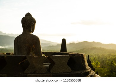 Buddha Statue of Borobudur Temple, Jogja, Indonesia 7