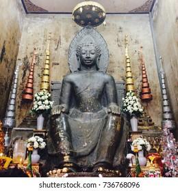 Buddha statue in the church