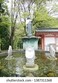Buddha statue of Enryakuji Temple