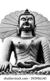 Buddha Statue  isolated on white, Have space for text