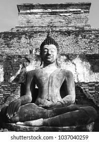 A Buddha statue Lan a Style
