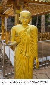 Buddha statue in Mihintale, Sri Lanka