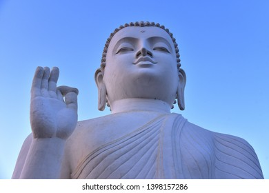 Buddha statue on mihintale ancient city Sri Lanka