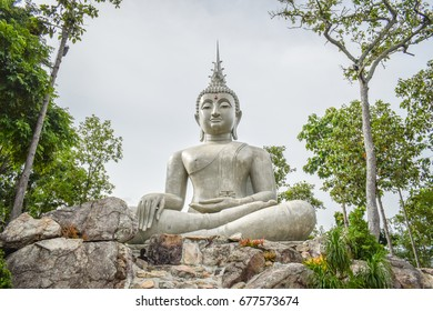 Buddha statue In the park of Loei Province(travel around Thailand)
