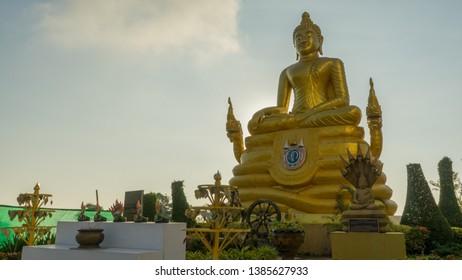 A Buddha statue in Puket, Thialand