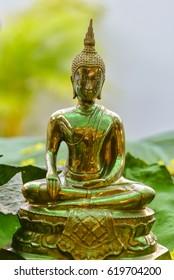 Buddha statue in Songkran Festival,Thailand