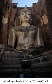 Buddha statue in Sukhothai Historical Park, Sukhothai Province, Thailand