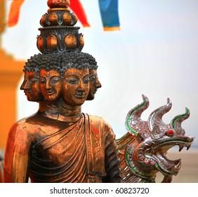 Buddha Statue Temple, Bangkok