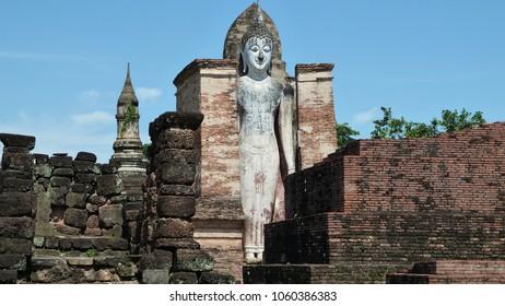 Buddha statue in a thai temple