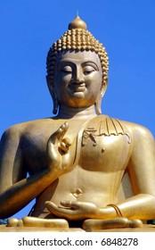 A Buddha statue in Thailand.