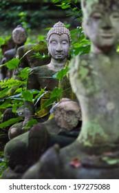 Buddha Statue In Wat Umong Chiangmai