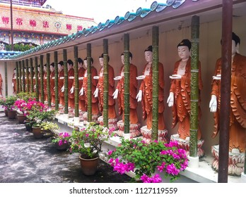 buddha statues at Kek Lok Si temple in George Town, Penang, Malaysia