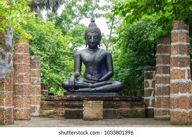 Buddha stature in Thailand.