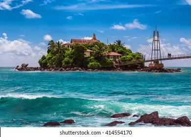 Buddha Temple in Matara island of Sri Lanka.