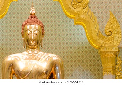 Buddha in Thai temple