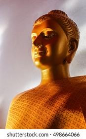 Buddha / Wat Bang Riang in Phang Nga Province, Thailand.