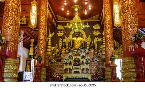The Buddha , Wat Phra Kaew Chiang Rai