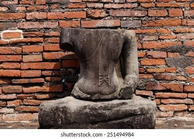 Buddha without head