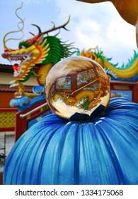 buddhism temple dragon
