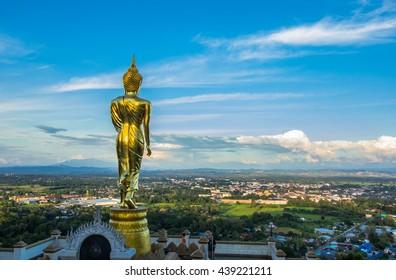 Buddhism temples at nan, thailand