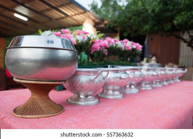 Buddhist Monks Alms Bowl.