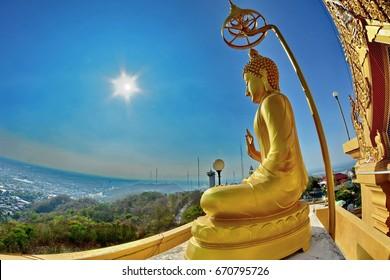 buddhist on the mountain