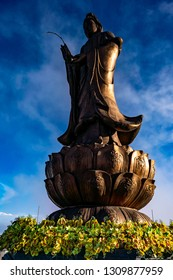Buddhist statue on Fansipan Mountain, Sapa, Vietnam