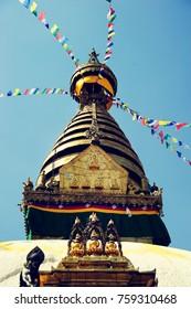 Buddhist stupa in Kathmandu, Nepal