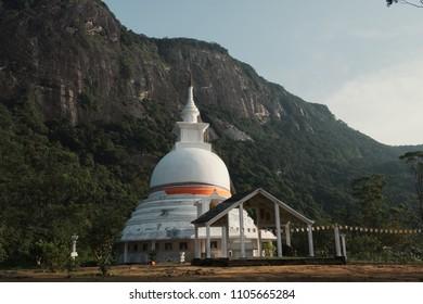 Buddhist temple, Adam's Peak, Sri Lanka