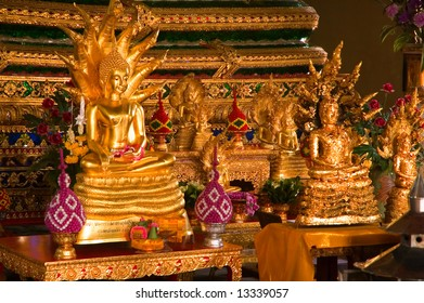 buddhist temple altar