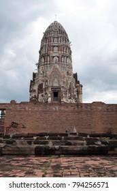 Buddhist Temple in Ayutthaya, Thailand