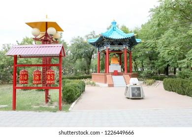 Buddhist temple in Elista - Kalmykia