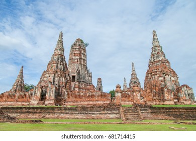 Buddhist temple in Historical Park, Thailand