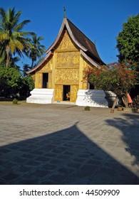 Buddhist Temple Luang Prabang Laos
