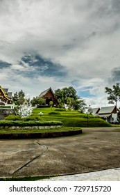 Buddhist temple in the Northeast of Thailand