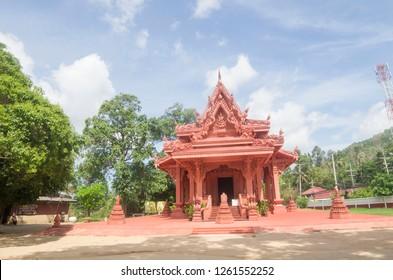 Buddhist temple .Thailand