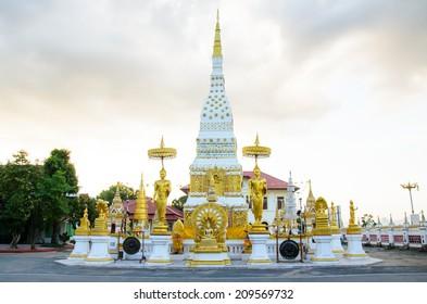 Buddhist thatnakhon ,nakhon phanom in thailand