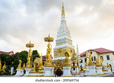Buddhist thatnakhon ,nakhon phanom in thailand 3