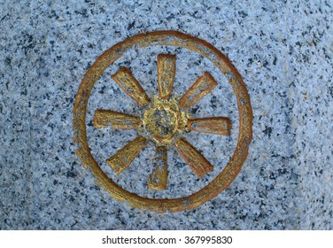 Buddhist wheel